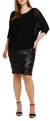 Studio 8 Pixie Knit Sequin Dress