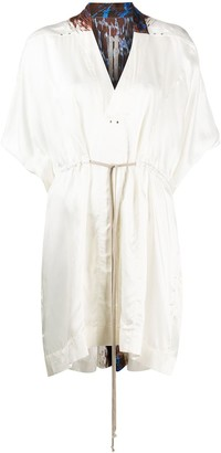 Rick Owens Drawstring Shift Dress
