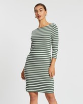 Gap Modern Boat-Neck Dress