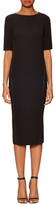 Veda Holly Leather Trimmed Sheath Dress