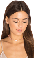 Jacquie Aiche Oval Moonstone Braided Choker