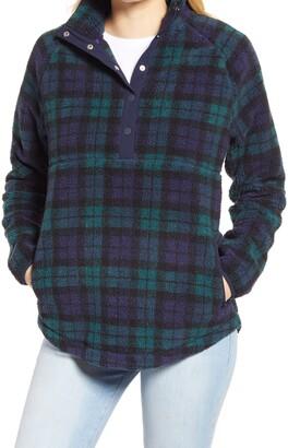 Vineyard Vines Black Watch Fleece Pullover