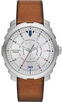 Diesel Men's DZ1736 Machinus Stainless Steel Brown Leather Watch