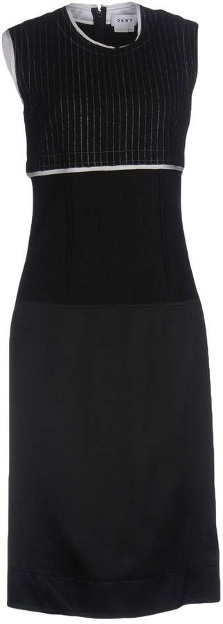 DKNY Knee-length dresses