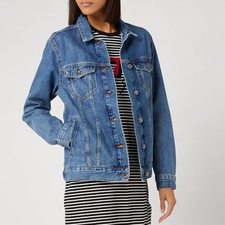 Superdry Women's 90s Oversized Denim Jacket