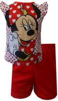 AME Sleepwear Disney's Minnie Mouse Toddler Shortie Pajama for girls