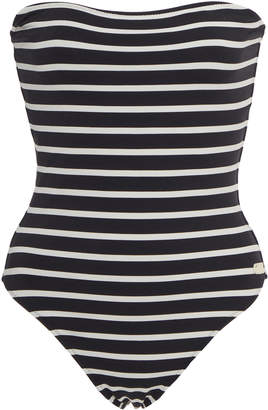 Solid & Striped Madeline Breton Striped Swimsuit Size: M