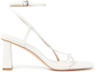 Forever New Indiana Strap Mid Block Heels