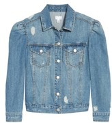 no sleeve denim jacket - ShopStyle