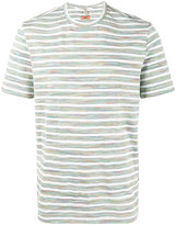 Missoni Grey and White Striped t shirt