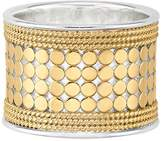 Anna Beck Gold-Plated Band Ring, Size 7.0
