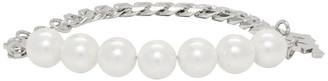 Misbhv Silver Pearl Bracelet