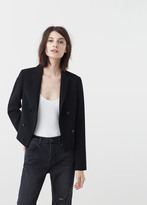 MANGO Double-Breasted Jacket