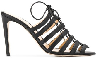 Chloe Gosselin Kristen 105mm lace-up mules