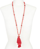 Anna & Ava Sabrina Tassel Necklace