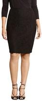 Lauren Ralph Lauren Plus Lace Pencil Skirt