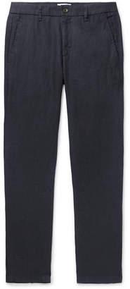 NN07 Karl Slim-Fit Tapered Linen Trousers