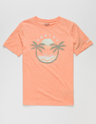 Hurley Lounger Boys Coral T-Shirt