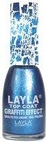 Healthcenter Layla Cosmetics Graffiti Top Coat N.24 Profonde Deep Pearled Nail Polish