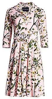 Samantha Sung Women's Audrey Printed Shirtdress