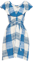 Ace&Jig Adriatic V-neck cotton dress
