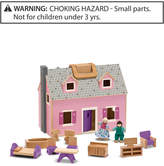 Melissa & Doug Fold-and-Go Dollhouse