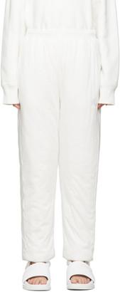 MM6 MAISON MARGIELA White Padded Lounge Pants