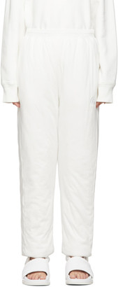 MM6 MAISON MARGIELA White Padded Lounge Pants