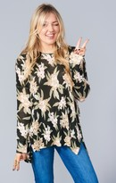 MUMU Bonfire Sweater ~ Forest Florist Knit