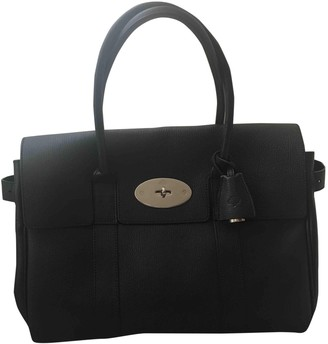 Mulberry Bayswater Black Leather Handbags