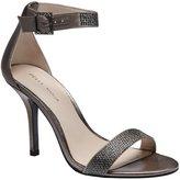 Pelle Moda Kacey Ankle-Strap Rhinestone Dress Sandals