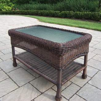 Rosecliff Heights Kingsmill Glass Coffee Table Rosecliff Heights Color: Coffee