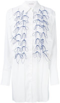Marco De Vincenzo embroidered shirt dress - women - Polyester - 40