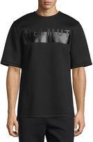 Helmut Lang Logo Short-Sleeve Oversized T-Shirt