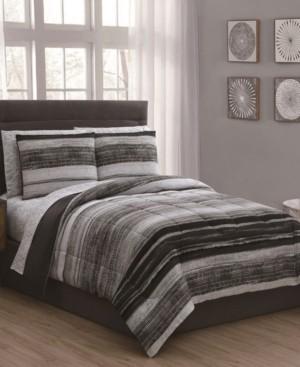 Geneva Home Fashion Laken 7-Pc King Bed in a Bag Bedding