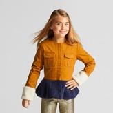 art class Girls' Peplum Military Jacket - art class Orange