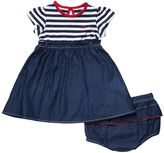 Lee Toddler Girl Stripe Chambray Dress