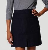 LOFT Petite Pocket Shift Skirt
