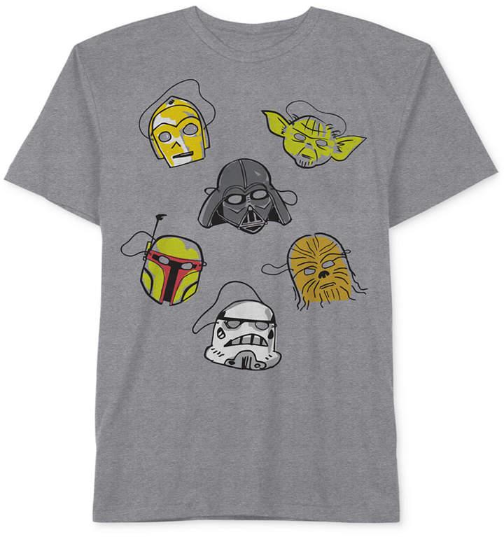 Star Wars Toddler Boys Face Masks Graphic-Print T-Shirt