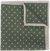 Eleventy polka dot pocket square - men - Wool - One Size