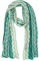 Missoni Metallic Patterned Scarf