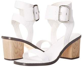 Sigerson Morrison Dalila (White Leather) Women's Shoes