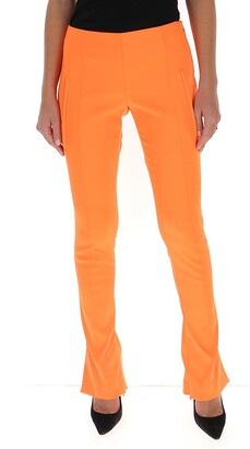 Off-White Skinny Flared Trousers