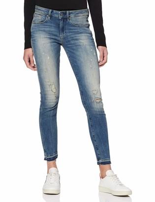 G Star Women's 3301 Mid Waist Skinny Ankle Jeans