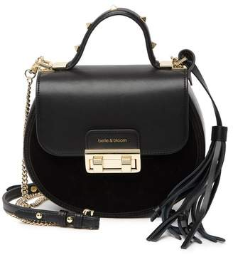 Belle & Bloom Belmore Exchange Circle Leather Crossbody Bag