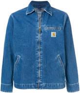 Carhartt zipped denim jacket