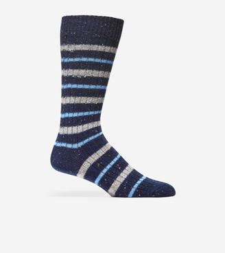 Cole Haan Wool Stripe Socks