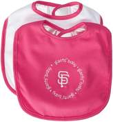 Baby Fanatic MLB San Francisco Giants Pink Baby Bib by