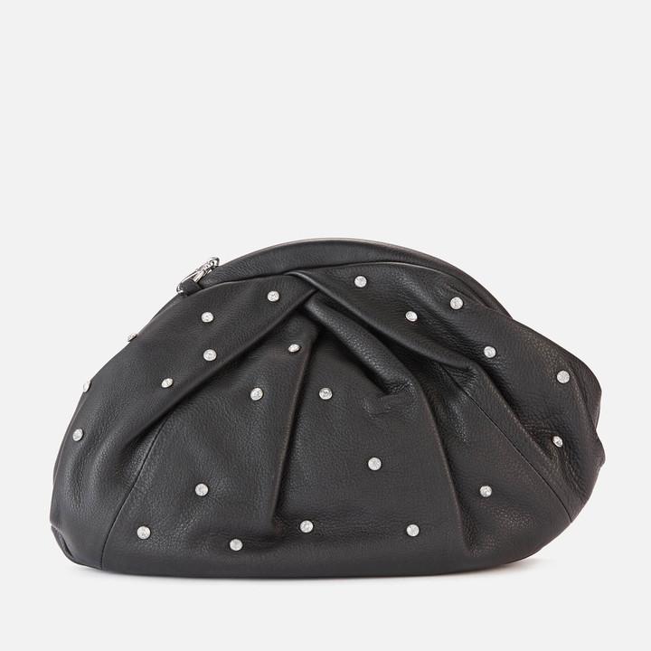 Thumbnail for your product : Nunoo Women's Saki with Diamonds Clutch - Black