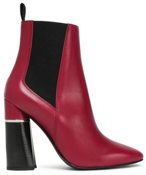 3.1 Phillip Lim Drum Leather Ankle Boots